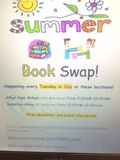 Plan to Participate in the July Book Swap