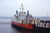 Hunters Quay ferry (sound of seil)