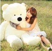 BABY TEDDY ! 80 CM HANYA RM100.00!