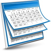 Upcoming Calendar Events