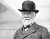 Another photo of Andrew Carnegie