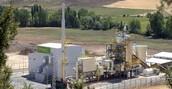 Fotografia de una central de biomasa