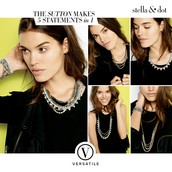 SUTTON NECKLACE - Mixed Metal - $128