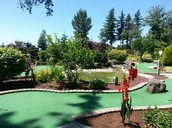 18 Hole Putt Putt Golf Course