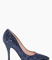 Licorice Glitter Heels