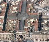 the Galleria Vittoria Emmanuelle