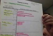 Writing T-Chart