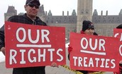 First Nations Protesting