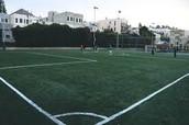 Work on the playground/field