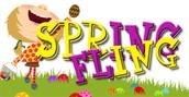 Spring Fling Tomorrow Night!