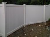 High Grade Vinyl Fencing