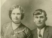 Minnie Beulah Burton Singleton and Duke Lewis Singleton