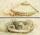 Leonardo da Vinci's Tank