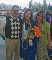 Ramos' daughter's Graduation last Friday!