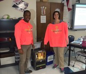 DHS Science Teacher, Shelly Hampe, wins an Environmental Science Education Kit!
