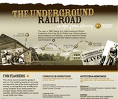 Explore This Powerful  Underground Railroad Interactive