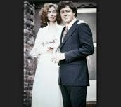 When he was married