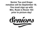 Senior Tux & Drape Pictures