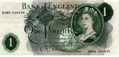 One Pound 1960