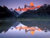 Fitz Roy, Las Montañas de Patagonia, Argentina