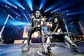 Rock band Kiss from back in the day.