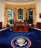 Oval office ( Presidents office )