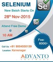 Selenium Training Institute - Advanto Software