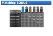 Matching bonus - zarada