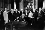 signing the 15th amendment