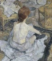 La Toilette, oil on board, 1889.
