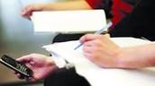 8.El uso de los celulares en los exámenes serán sancionados con reprobar