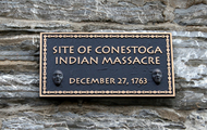 Conestoga indians memorial