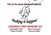 We are CFN 412: The Teacher Effectiveness Network
