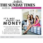 Did you see our Founder Jessica Herrin in the Sunday Times this week?