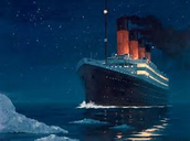 titanic before iceberg