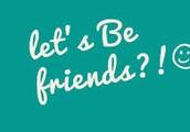 Let's be friends [grade 4]