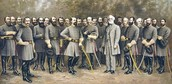 leaders of the Confederate Army.