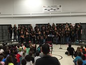 6th Graders last Chorus Concert