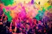 join us to huge colours festival!!!!