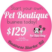 Start your Own Pet Boutique TODAY!