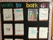 """Ms. Pearlman's Class Shows Off Their """"Work To Bark At!"""""""