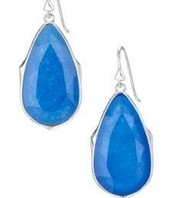 Sentiment Earrings Blue
