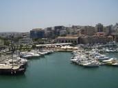 נמל העיר הרקליון