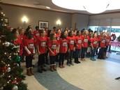 Our 4/5 Grade Choir Spreading Cheer