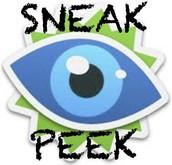 Sneak Peeks in your Classroom