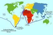 Ferdinand Magellan's Route