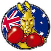 The boxing kangaroo