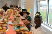 1st Grade Thanksgiving Feast