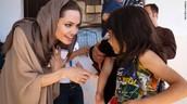 Jolie in Syria