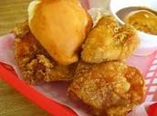 3 Louisiana chicken